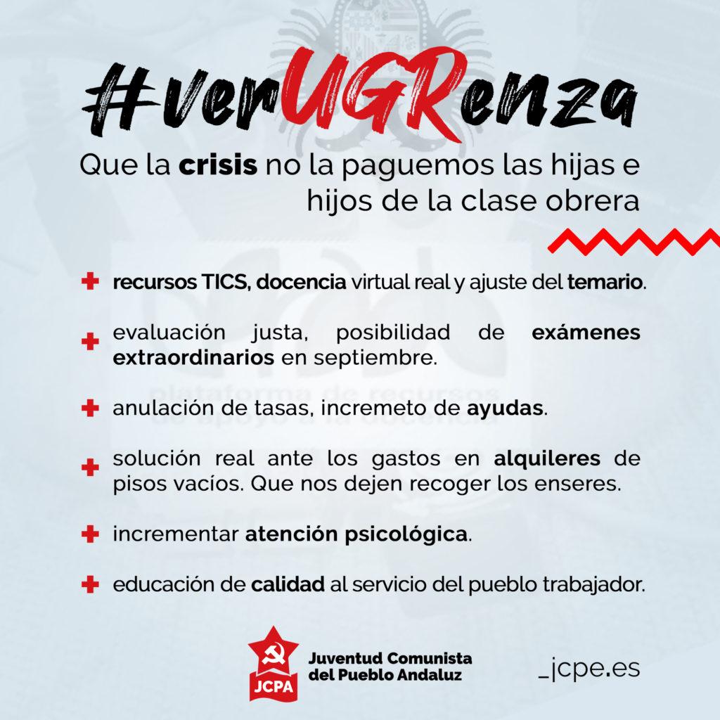 Exigencias de la JCPA Granada