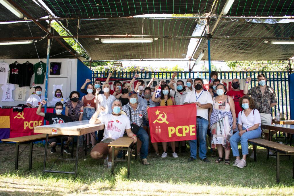 Festa do avante delegación PCPE y JCPE