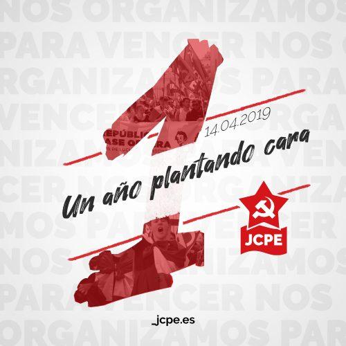 1 año de la Juventud Comunista de los Pueblos de España