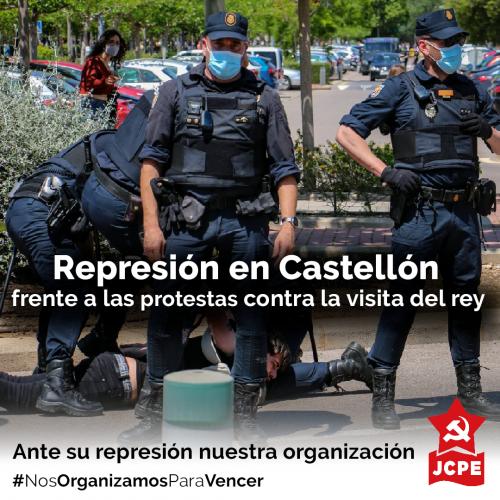 Represión en Castellón