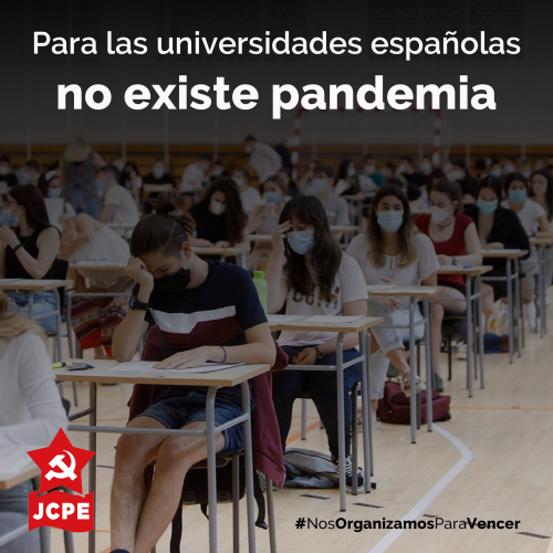 Para las universidades españolas no existe pandemia